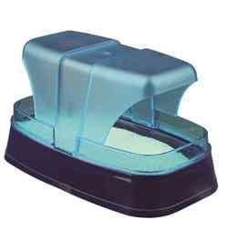 Купалка для хомяков и мышей, 17х10х10 см, темно-синий/бирюзовый