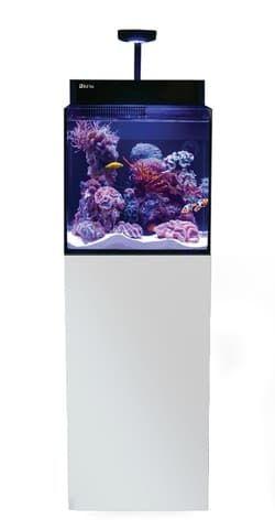 Аквариум MAX Nano морской, 75л, белый - комплект (аквариум и тумба)