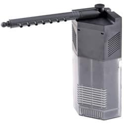 Фильтр внутренний угловой с поворотной дождев. флейтой и регулятором потока, 3W 250л/ч,акв. 40-65л SS-JP-092