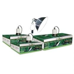 Светильник для террариума на зажиме 05RL, 150Вт, 220мм