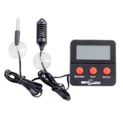 Термогигрометр для террариума электронный 124SH с двумя датчиками, 60х60х10мм