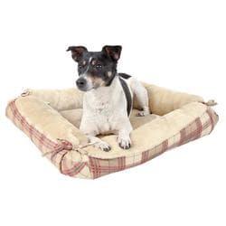 "Лежак для собак ""Relax"" 70 х 60см, бежевый для собак артикул 2855"