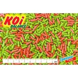 """Биодизайн корм для рыб """"КОИ БАЛАНС рост и цвет""""- плавающие палочки 50л (п/э пакет)"""