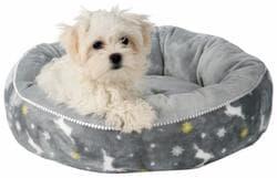 Рождественский Рудольф лежак для собак основание 50 см, серый артикул 92487 Серия ограничена